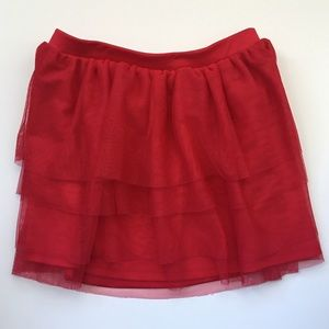 Circo Red Skirt Girls Size 7/8